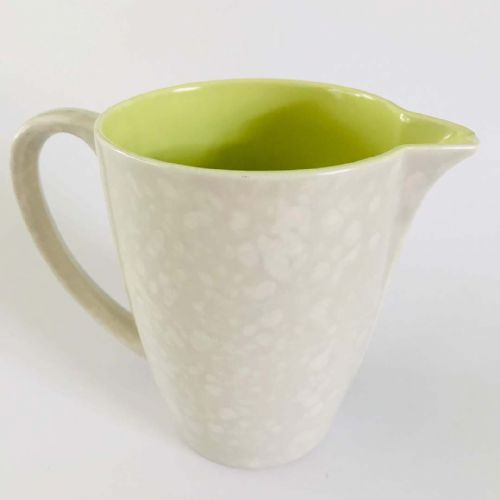 Poole Pottery Lime and Seagull milk jug | 50s 60s